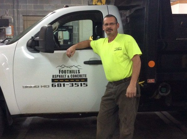Gary Caccavale of Foothills Asphalt & Concrete | Knoxville