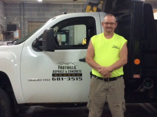 Tony Whitehead of Foothills Asphalt & Concrete | Knoxville